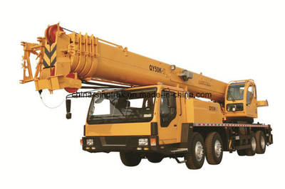 Very Cheap HOWO Mobile Truck Crane Qy50g of 50t