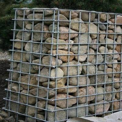 Decorative Galvanized Welded Square Gabion Stone Box for Retaining Wall