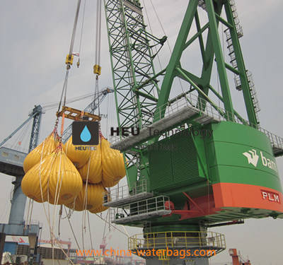 Offshore Proof Davit and Crane Load Testing Water Weight Bag
