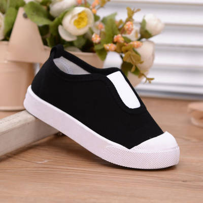 2019 Soft Kids Baby Shoes Casual Canvas Sneakers