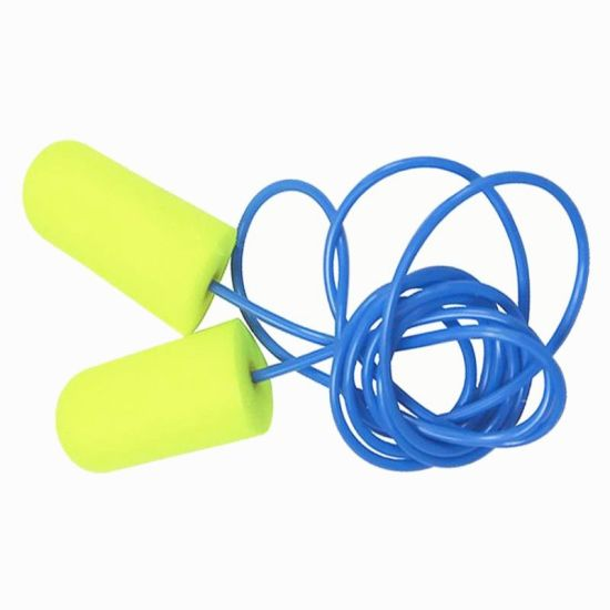 Blue Silicone Wireless Earplugs Noise Ear Protection