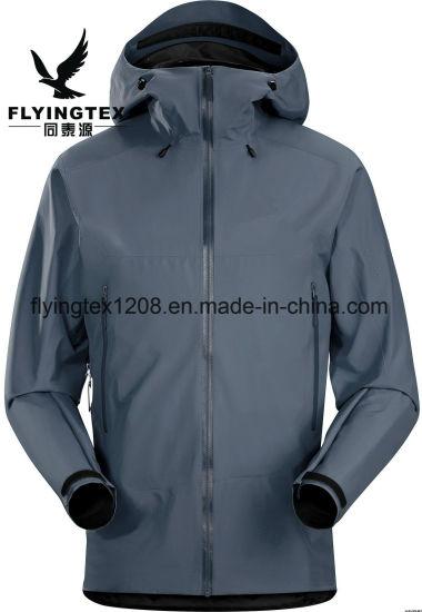 Casual Side Zipper Waterproof Clothes Pocket Men Pullover Hoodies