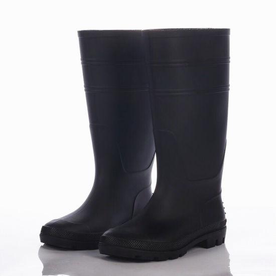 Cheap Pricerubber Working Rain Boots Wellington Boots PVC Rain Shoes