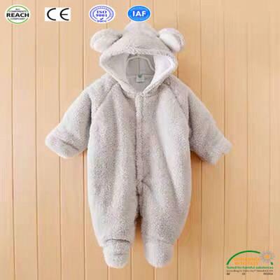 Cute Sheep Design Winter Baby Onesie Guangzhou Factory Directly Wholesale