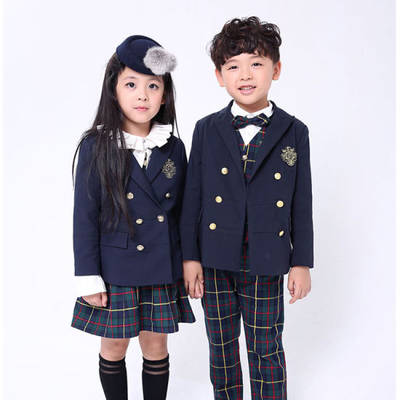 Factory Good Qunality Customize High Quality Unisex School Uniform