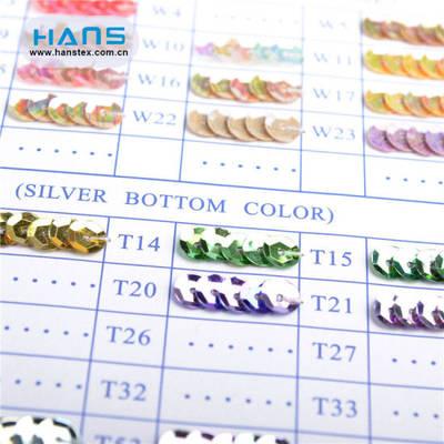 Hans Factory Wholesale Multi Size Sequin Strip