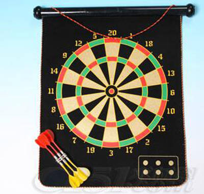 High Quality Portable Non-Toxic OEM Dart Board