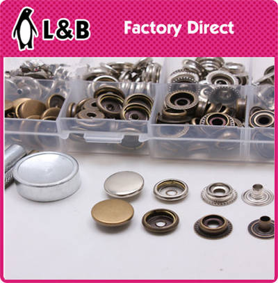High Quality Wholesale Metal Spring Snap Button pictures & photos