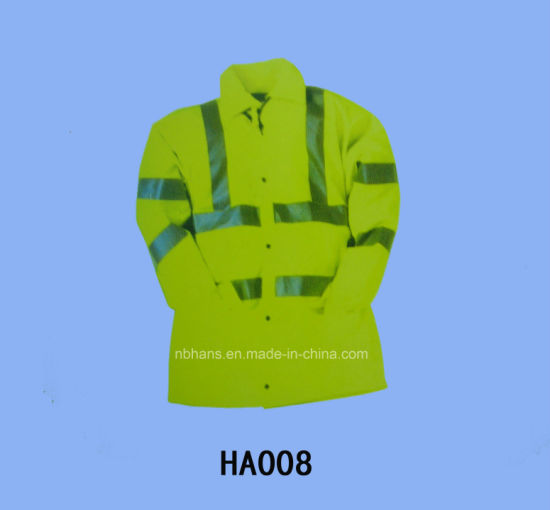 High Visibility Reflective Long Sleeve Clothes (HA008)