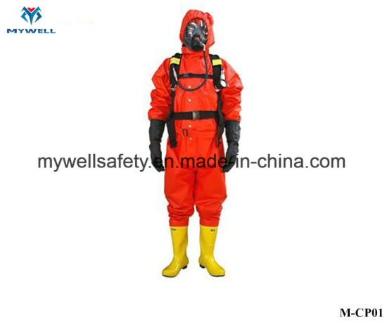 M-Cp01 High Quality Ce Approval Fire Fighting Protective Clothing and Shoes