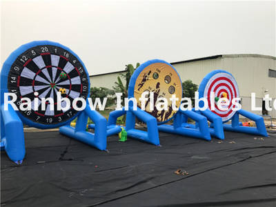 Newly Design Inflatable 3 in 1 Dart Game