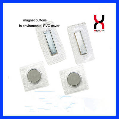 Plastic Cover Sewing Magnet Button for Clothing