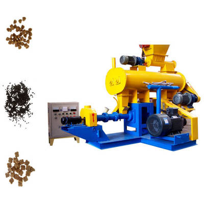Small Floating Fish Feed Pellet Making Machine
