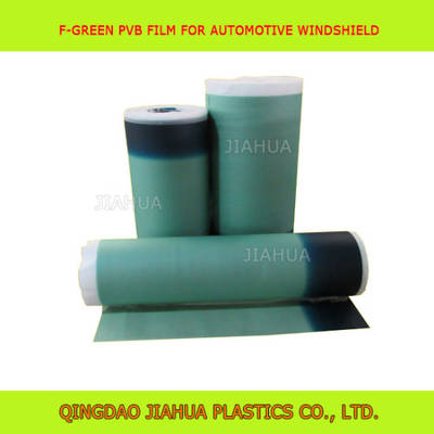 0.76mm Green on Green PVB Film for Automobile Windshield Glass