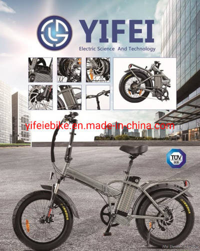 20*4.0 Folding Fat Tire Ebike 48V 500W Fold Ebike Fat Tire Adult Electric Bicycle