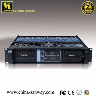 Fp14000 2 Channel Class Td Switching PRO Speaker Professional Audio Power Amplifier for Powerful Sub
