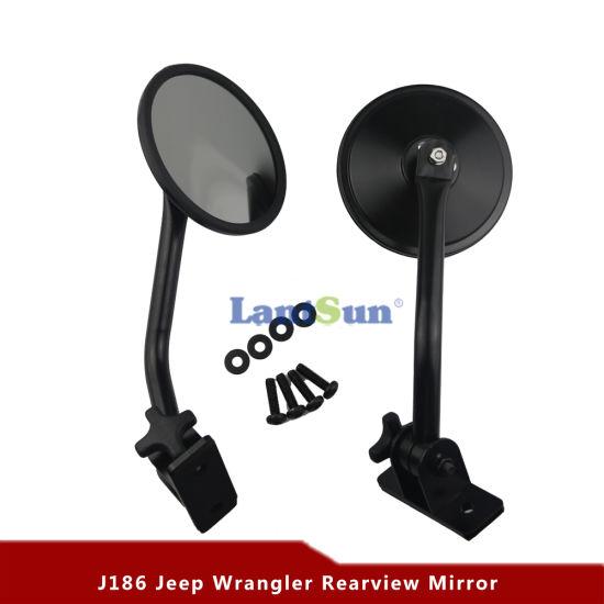 J186 for Jeep Wrangler Jk Accessories Black Quick Release Mirror Relocation Kit