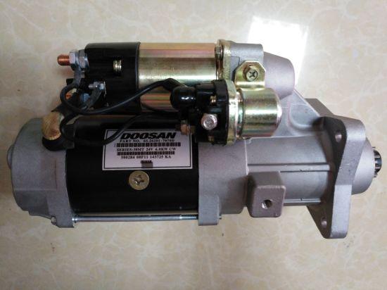 65.26201-7070 De12 Genuine Parts Doosan Engine Starter