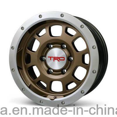 Trd, Vosse Aftermarket SUV 4X4 Offroad Beadlock Racing Passenger Car Replica Aluminum Alloy Wheel fo