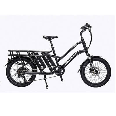 """2019 Latest 20"""" Electric Cargo Bike Factory for Food Delivery, Range Over 120km"""
