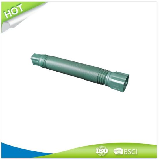 """Extension Downspount Drain Pipe 65mmx5′ with 2""""X3"""" and 3""""X4"""" Adapters"""