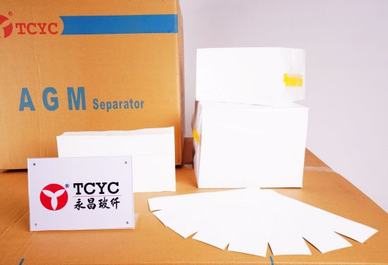 Fiberglass AGM Separator for UPS Battery