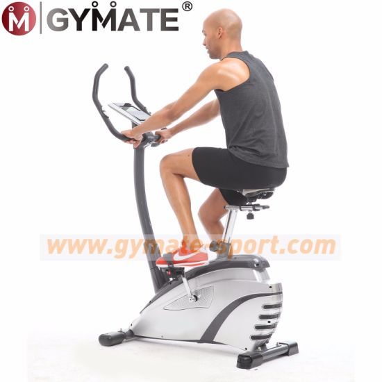 Gymate Sporting Goods Magnetic Ergometer Spinning Upright Exercise Bike Hometrainer