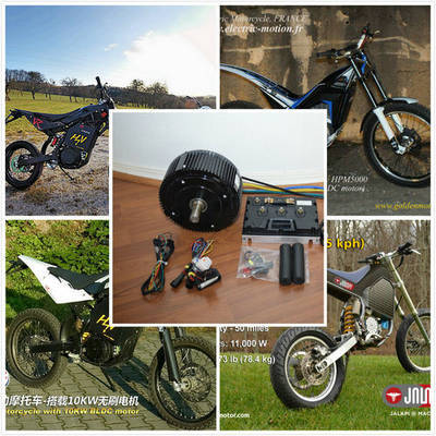 Air Cooling48V 5kw Electric Motorcycle Engine