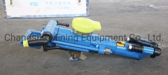 For Hard Rock High Quality Manufacturer China Wholesale Drilling Tools Yt23 (7655) Air Leg Rock Dril