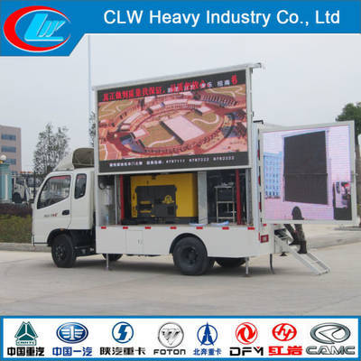 P4 P5 P6 Full Color Display Screen LED Advertising Truck