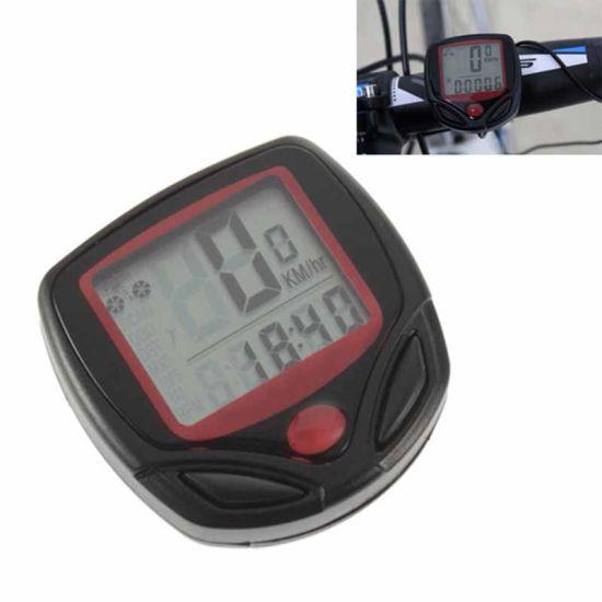 Waterproof LCD Bicycle Computer Bike Odometer Bicycle Stopwatch Cycling Speedometer