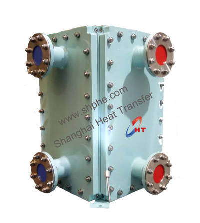 304/ 316 / 316L/ 254smo Stainless Steel All Welded Plate Type Industrial Water Heat Exchanger Steam