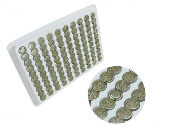 AG4 Button Cell X20PCS /Tray 3.0V Limno2 Coin Battery
