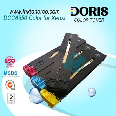 Compatible Premium Refillable Toner Cartridge Dcc6550 Color Copier Toner for Xerox Apeosport 650I 75