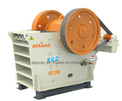 High Capacity Jaw Crusher for Hard Stone (JC110)
