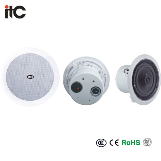 T-206cw PA Ceiling Sound System 6 Inch Coaxial Speaker