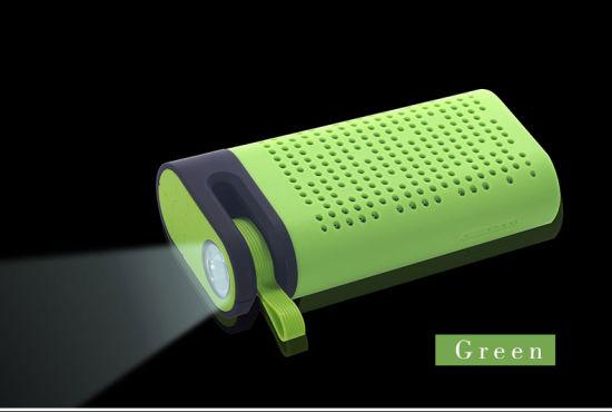 Wireless Speaker Bluetooth Speaker Wireless Bluetooth Speaker with Power Bank and LED Light Tg06