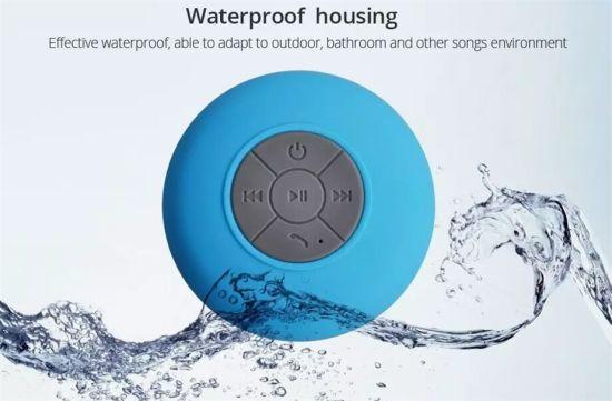 in Stock! Mini IP44 Waterproof Wireless Shower Sucker Bluetooth Speaker Car Handsfree Receive Call M