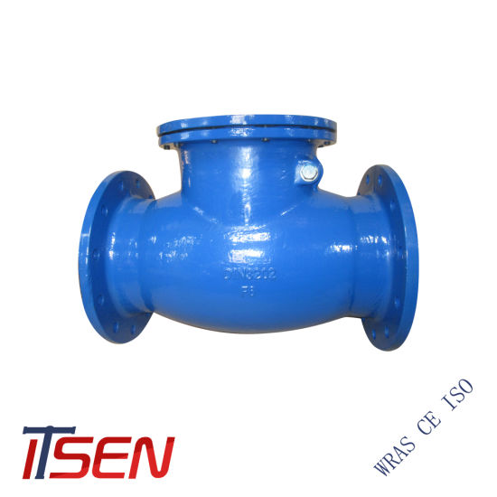Cast Iron/Ductile Iron Pn10/16 Flange End Rubber Seated Swing / Wafer / Lift / Ball Check Valve of R