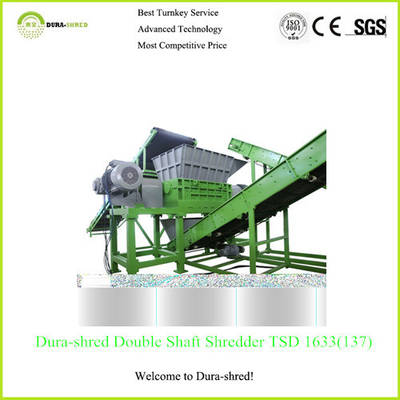 Dura-Shred Customized Waste Tire Recycling Machine (TSD2471)
