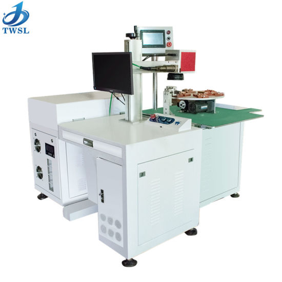 Factory Price OEM Supply iPhone Polymer Battery Laser Spot Welding Machine with 6/4/8 Station (TWSL-