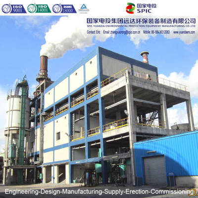 Fgd2X55 Flue Gas Desulfurization System for Black Carbon Company in Egypt