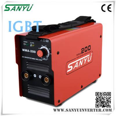 Shanghai Sanyu 2016 New Developed High Duty-Cycle MMA Inverter Welding Machine
