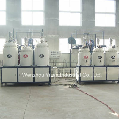 High Speed Conveyor Type Low Pressure PU Pouring Machine with AC Drive