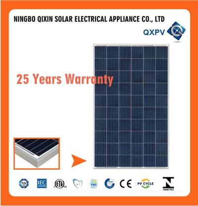 Hot Sell A Grade 270W 24V Poly Cell Solar Panel