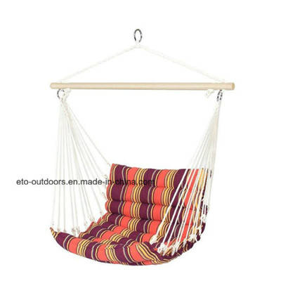Quilted Cotton Hanging Swing Hammock Chair for Garden Porch
