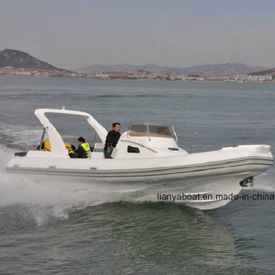 Liya 8.3m Yacht Made in China Inflatable Fiberglass Speed Boat