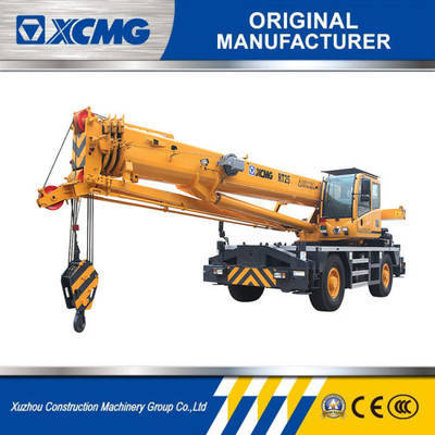 XCMG Official 25 Ton Rough Terrain Crane Rt25