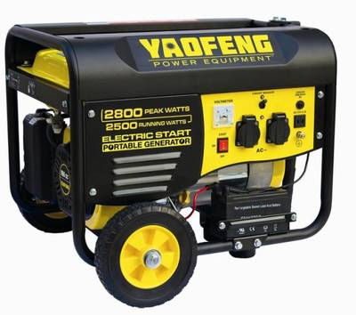 2500 Watts Portable Power Gasoline Generator with EPA, Carb, CE, Soncap Certificate (YFGP3000E2) pictures & photos