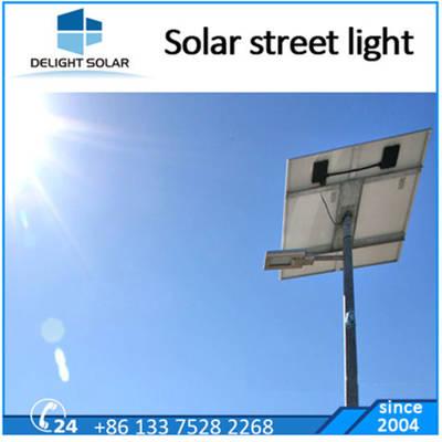 8m Motion Sensor 60W Outdoor Gate LED Solar Street Light